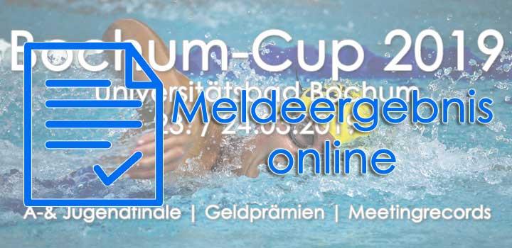 Meldeergebnis – Bochum-Cup 2019 | Online