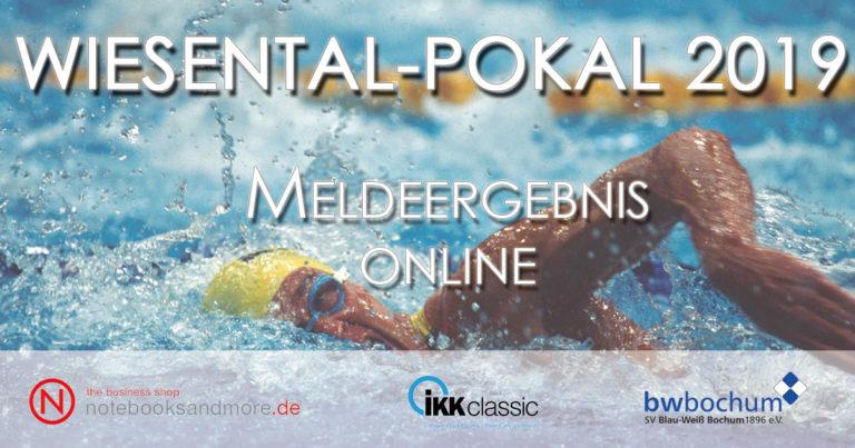 Meldeergebnis – Wiesental-Pokal 2019 online