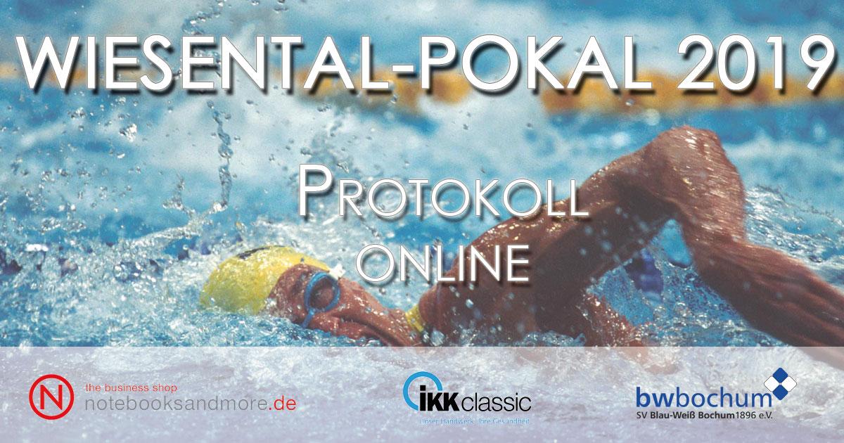 Protokoll – Wiesental-Pokal 2019 online