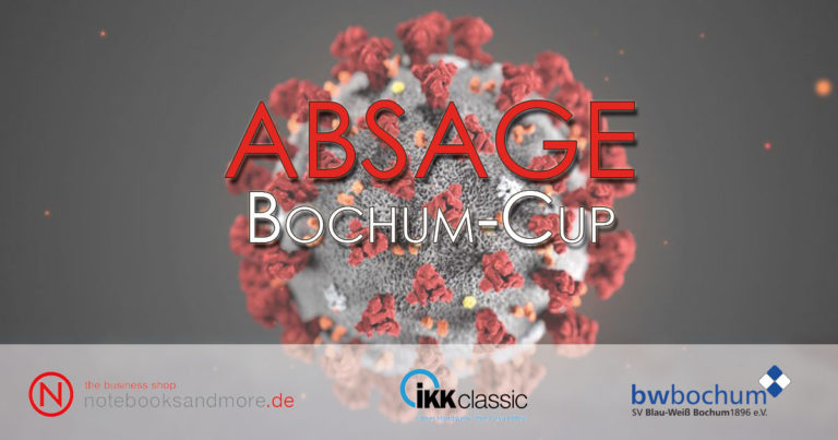 Read more about the article ABSAGE – Bochum-Cup