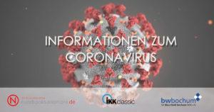 Read more about the article Informationen zum Coronavirus
