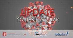 Read more about the article Corona-Kontaktformular | Ausschluss Zuschauer